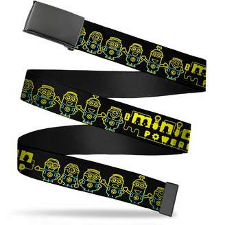 Buckle Down Buckle-Down Men's Buckle-Down Web Belt Minions 1.5""