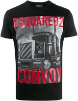 DSQUARED2 convo photo T-shirt