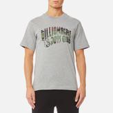 Billionaire Boys Club Space Camo Arch Logo Tshirt - Heather Grey