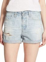 AG Jeans Alex Distressed Shorts
