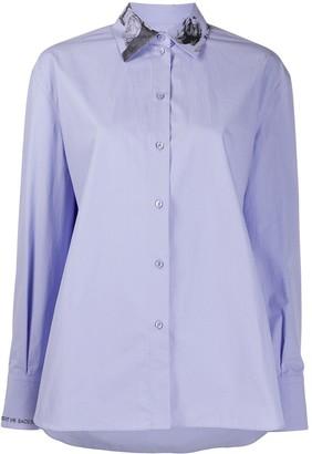 Valentino Undercover print long-sleeved shirt