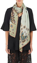 Valentino Women's Mariposa Garden Silk Stole