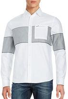 Plac Contrast Paneled Sportshirt