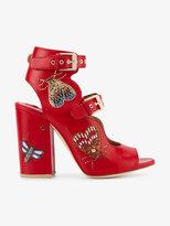 Laurence Dacade Nellen butterfly embellished sandals
