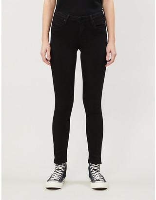 Noisy May NmKimmy skinny high-rise stretch-denim jeans
