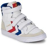 Hummel STADIL JR VELCRO HIGH White / BLUE / RED / Gum