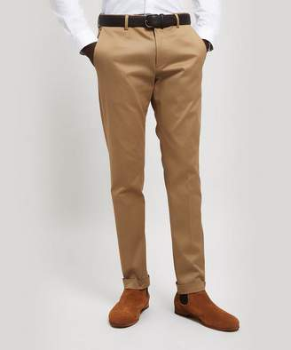 Paul Smith Cotton Twill Turn-Up Trousers