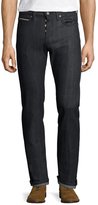 Naked & Famous Denim Buttoned Skinny Guy Jeans