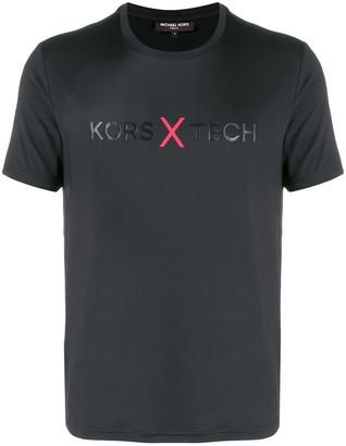 Michael Kors x Tech logo T-shirt
