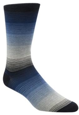 Cole Haan Men's Gradient-Stripe Socks
