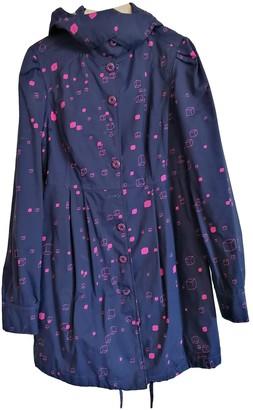 Stussy Purple Synthetic Coats