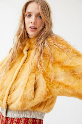 Urban Outfitters Nari Faux Fur Bomber