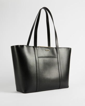 Ted Baker KIMIAA Saffiano bar detail tote bag