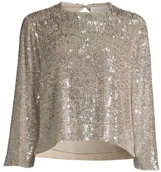 Sachin + Babi Blair Sequin Blouse