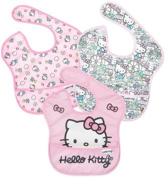 Bumkins Baby Girl Hello Kitty SuperBib (3-pack)