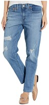Levi's Womens Womens New Boyfriend (Hawaii Blue) Women's Jeans