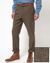 Asos Slim Fit Suit Pants in Tweed