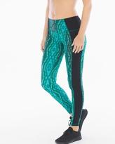 Soma Intimates Reversible Print Leggings Green