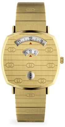 Gucci Grip GG Yellow Gold PVD Bracelet Watch