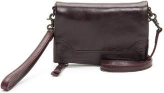 Frye Melissa Stadium Leather Convertible Crossbody Bag