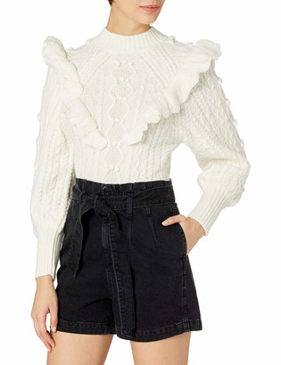 ASTR the Label Women's Judy Turtleneck Fitted Sweater
