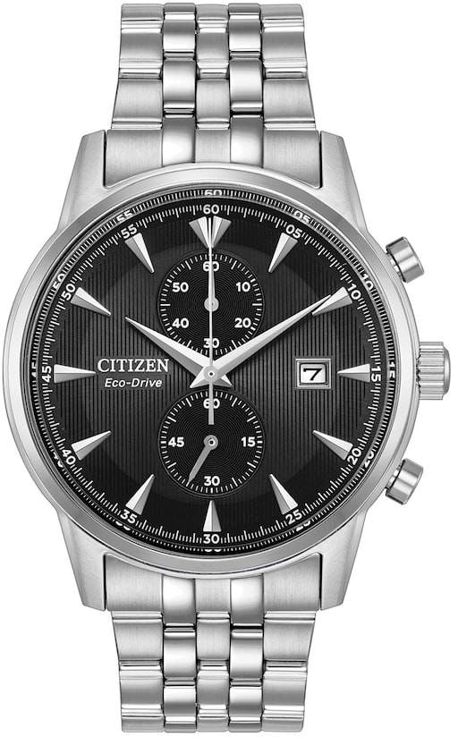 Citizen Eco-Drive Men's Corso Stainless Steel Chronograph Watch - CA7000-55E