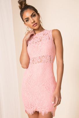 superdown Suri Sleeveless Mini Dress in Pink