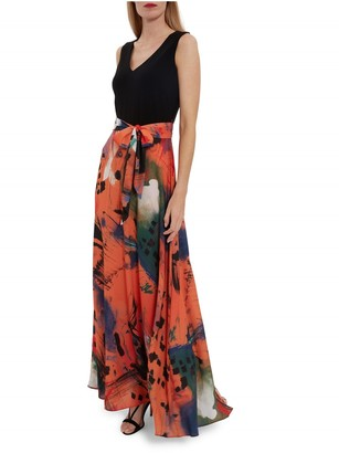 Gina Bacconi Ravenna Printed Skirt Dress