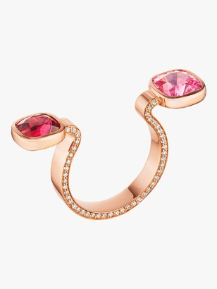 Of A Kind Spinel Between-the-Finger Ring