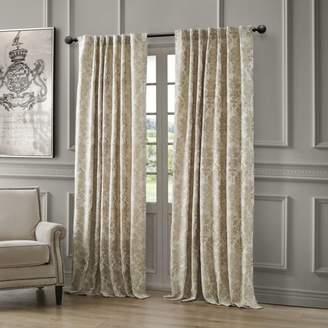 "Waterford Juniper Back Tab/Rod Pocket Curtain Panel, 54"" x 108"""