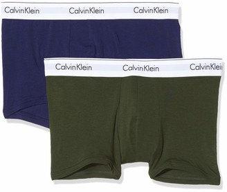 Calvin Klein Men's Trunk 2pk Hipster
