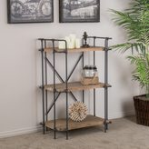 Christopher Knight Home Yorktown 3-Shelf Industrial Bookcase