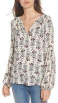 Hinge Women's Blouson Sleeve Top