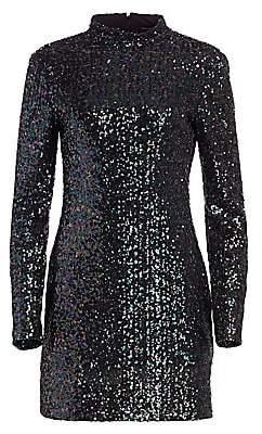Rachel Zoe Women's Pierina Sequin Mini Bodycon Dress