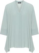 Via Appia Plus Size A-line blouse