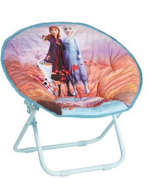 Disney Disney's Frozen 2 Anna, Elsa, and Olaf Collapsible Saucer Chair