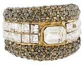 Etro Crystal Cocktail Ring