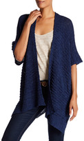 Cejon Woven Wearable Cardigan Like Shawl