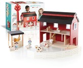 The Well Appointed House Guidecraft Big Red Barn Toy Play Set for Children
