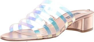 Sarah Jessica Parker Court Multi-Strap Block Heel Sandal