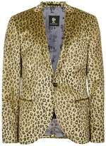 Noose And Monkey Leopard Print Blazer