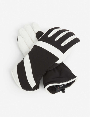 Toni Sailer Alek leather ski gloves