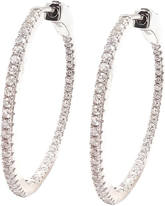 Savvy Cie Silver Cz Earrings