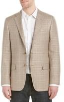 Hickey Freeman Milburn Ii Wool, Silk, & Linen-blend Sportcoat.