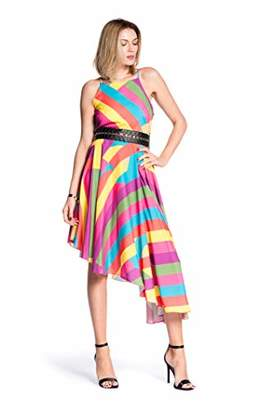 Relish Women's Blues Party Dress,Medium