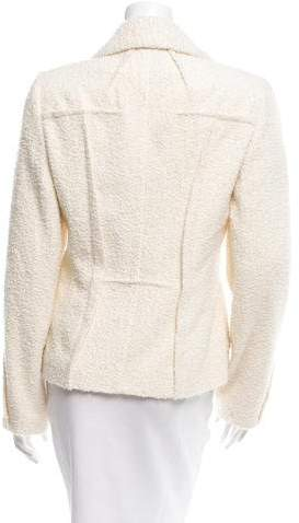 Christian Dior Textured Notch-Lapel Blazer