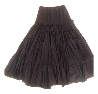 Jean Paul Gaultier Brown Synthetic Skirts
