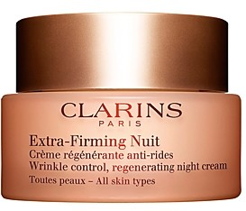 Clarins Extra-Firming Night Wrinkle Control Regenerating Cream for All Skin Types
