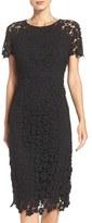 Shoshanna Women's Beaux Lace Midi Dress