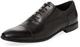 a. testoni Men's Cap-Toe Oxford